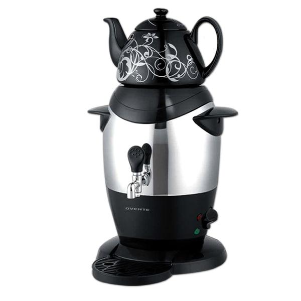 Ovente Samovar S21 Black Tea Maker