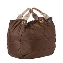 Moncler Chocolate Nylon Tote Bag - Thumbnail 1