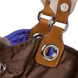 Moncler Chocolate Nylon Tote Bag - Thumbnail 2