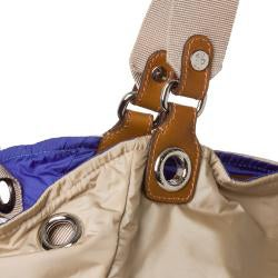 Moncler Beige Nylon Tote Bag