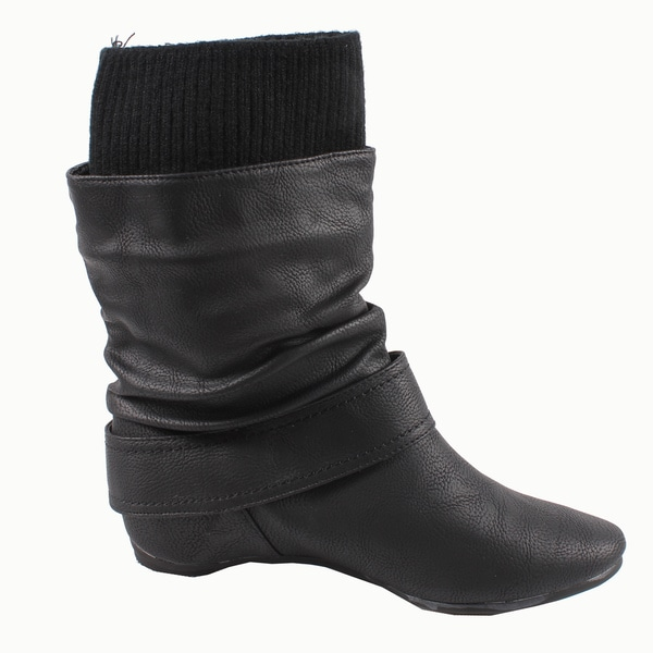 Blossom by Beston Women's 'Amar-24' Mid-calf Boots