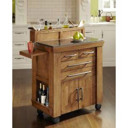 Home Styles The Vintage Gourmet Kitchen Cart