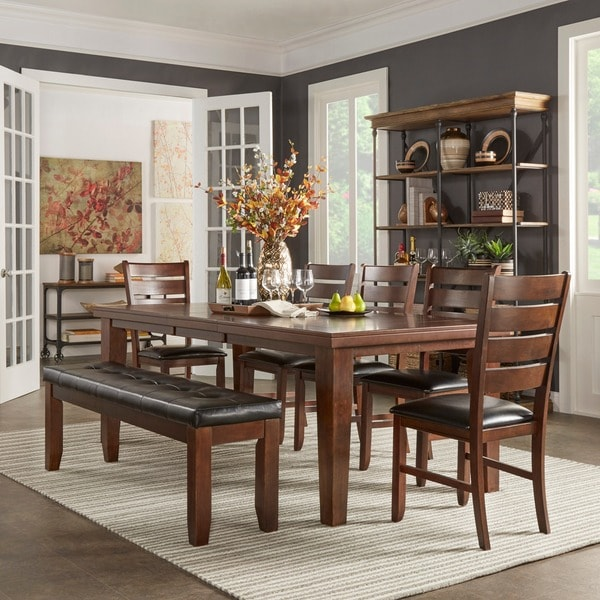 TRIBECCA HOME Camden Extending Dining Set