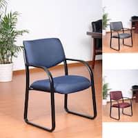 Aragon Steel Frame Fabric Guest Chair