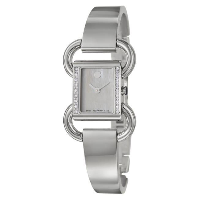 Movado Women's 'Linio' Stainless Steel Swiss Watch