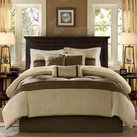 Madison Park Kennedy Natural 7 Piece Comforter Set