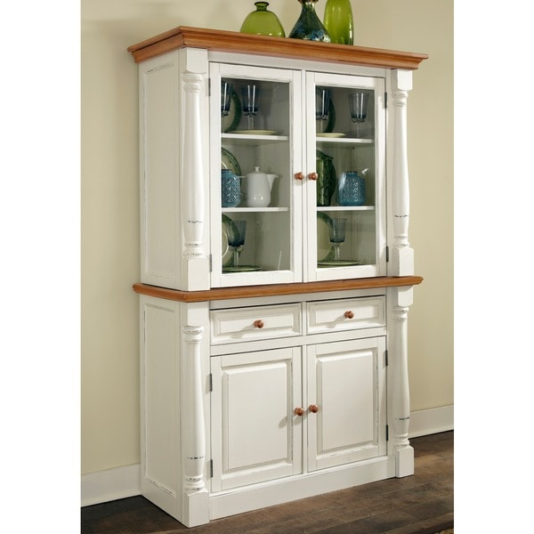 Monarch Buffet and Hutch by Home Styles