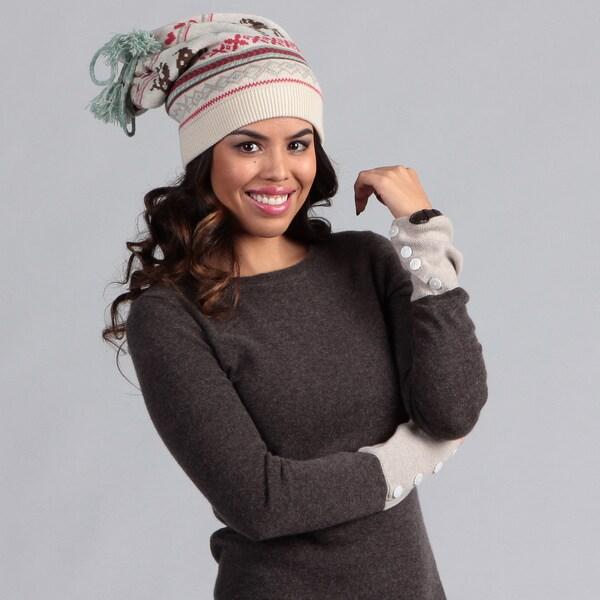 Muk Luks Women's Scandinavian Hat and Neckwarmer Set