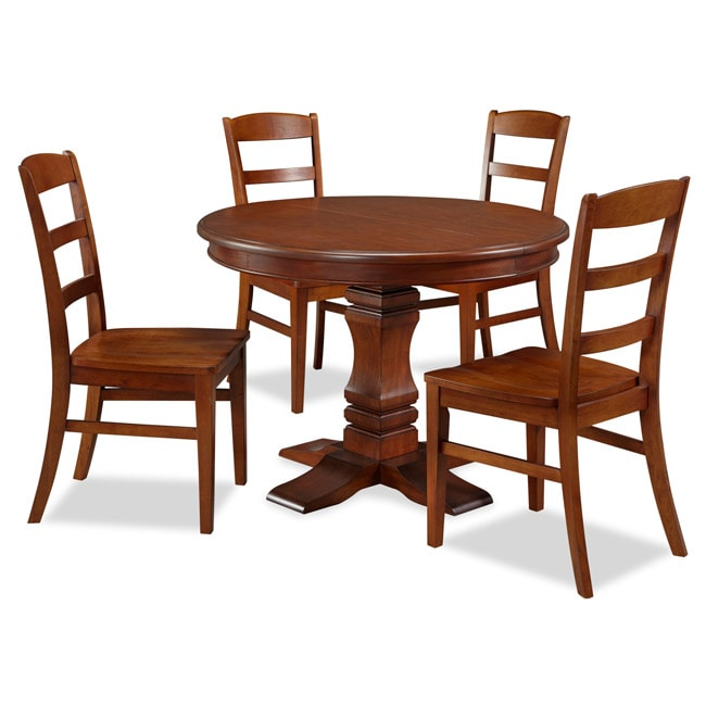 Aspen Collection Pedestal Dining Set by Home Styles