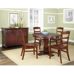 Aspen Collection Pedestal Dining Set by Home Styles - Thumbnail 1