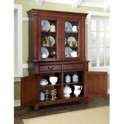 The Aspen Collection Buffet and Hutch by Home Styles