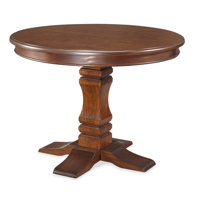 The Aspen Collection Pedestal Dining Table by Home Styles - Free Shipping Today - Overstock.com ...