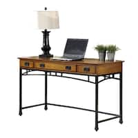 Modern Craftsman Executive Desk by Home Styles