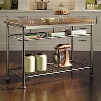 Copper Grove Restoule Kitchen Cart
