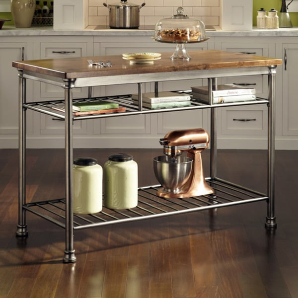 free kitchen island the orleans kitchen island by home styles free shipping 1067