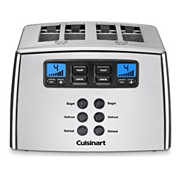 Cuisinart CPT-440 Silver 4-slice Leverless Toaster