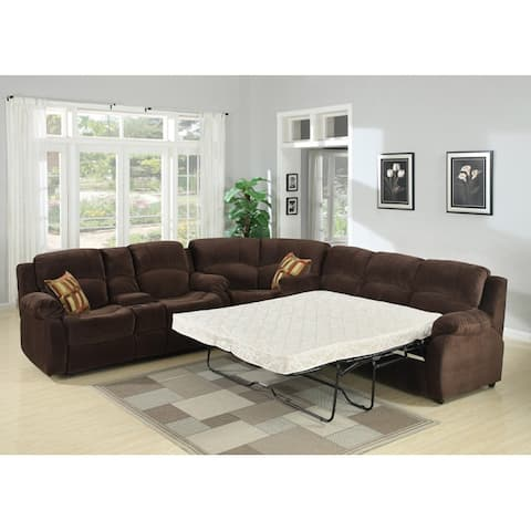 Tracey Chocolate Sleeper Sectional