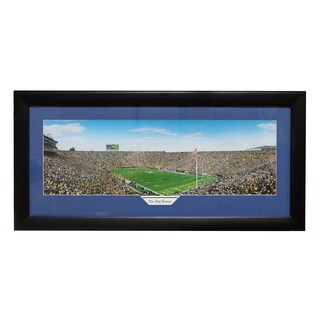 Michigan University 'The Big House' Panoramic Frame