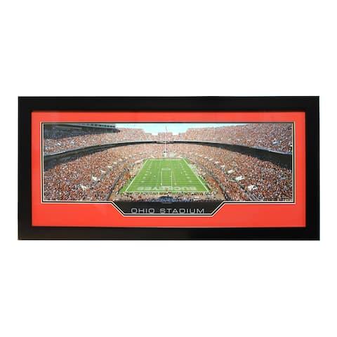 Ohio State University 'Ohio Stadium' Panoramic Frame