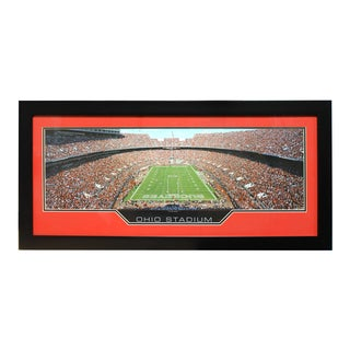 Ohio State University 'Ohio Stadium' Panoramic Frame