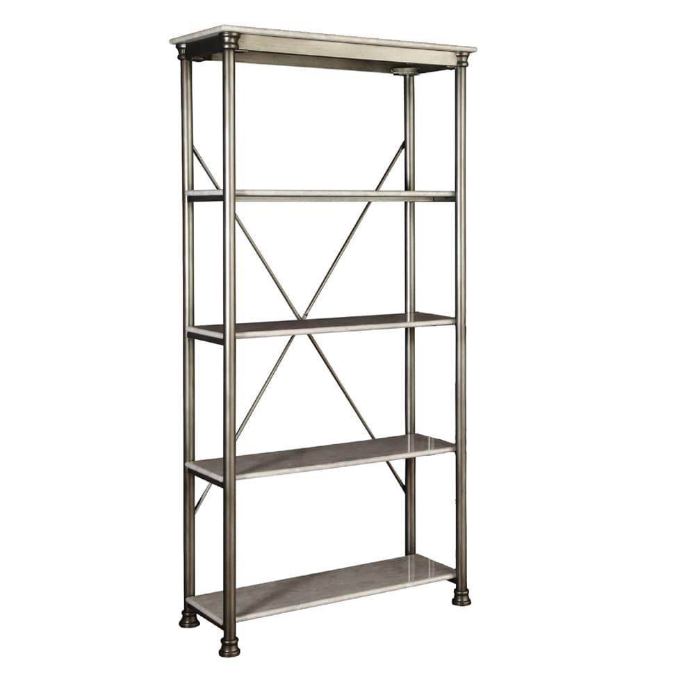 Carbon Loft Donovan 5-tier Multi-function Marble Shelves