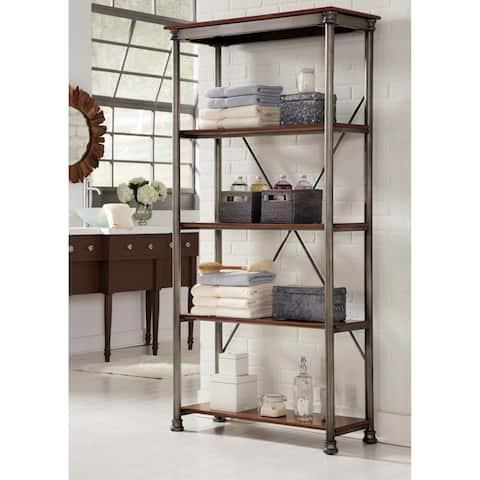 Carbon Loft Herman 5-tier Multi-function Vintage Shelves