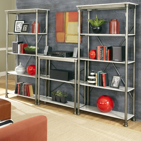 The Orleans' Multi-function Marble Storage Unit by Home Styles