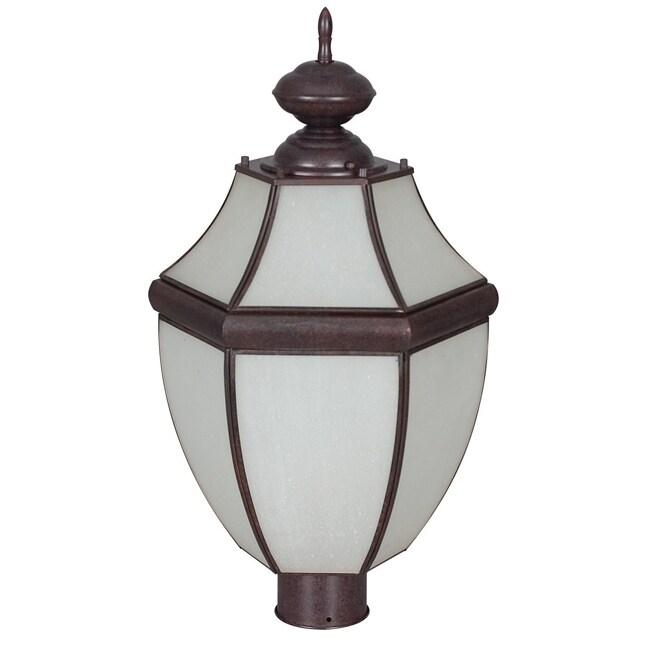 One-Light Steel Post Lantern