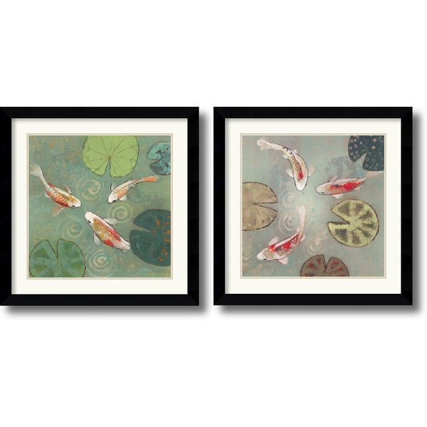 Aleah Koury 'Floating Motion' Framed Art Print Set