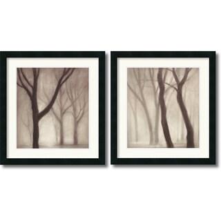 Gretchen Hess 'Forest' Framed Art Print Set 20 x 22-inch (Each)