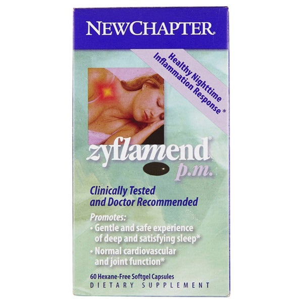 New Chapter Zyflamend PM 60 Softgels