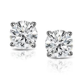 Auriya Platinum 2/5ct TDW Clarity-Enhanced Diamond Solitaire Stud Earrings|https://ak1.ostkcdn.com/images/products/7110726/P14607138.jpg?impolicy=medium