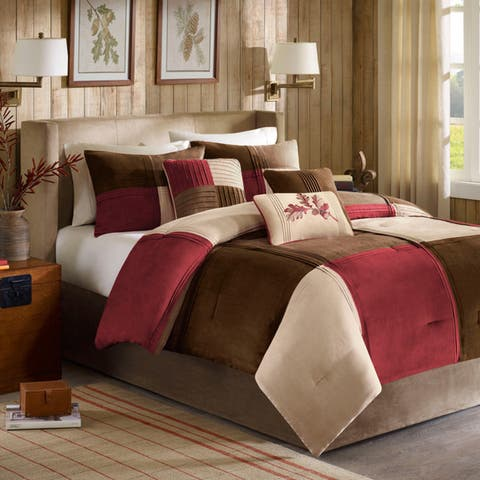 Madison Park Maddox 7 Piece Comforter Set