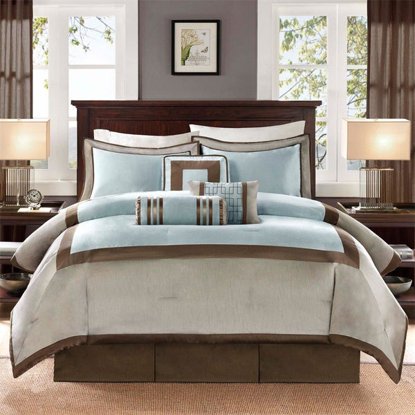 Shop Madison Park Abigail 7 Piece Comforter Set Free