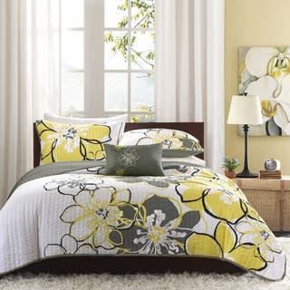 Mi Zone Mackenzie Yellow Printed Quilt Mini Set https://ak1.ostkcdn.com/images/products/7110748/P14607145.jpg?impolicy=medium