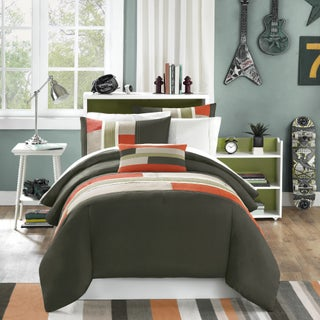 Mi Zone Switch Casual Stripe 4-piece Comforter Set (3 options available)