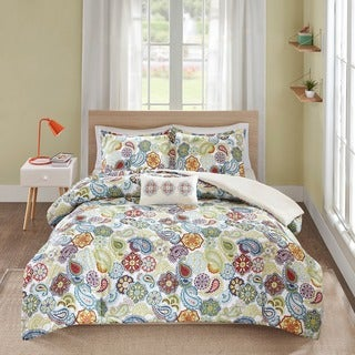 The Curated Nomad Stanyan Printed Paisley Comforter Set (3 options available)