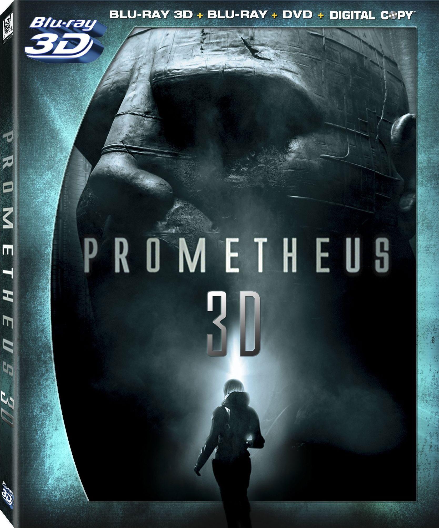 Prometheus 3D (Blu-ray 3D / Blu-ray / DVD)