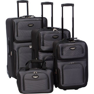 Travel Select by Traveler's Choice Amsterdam 4-piece Luggage Set