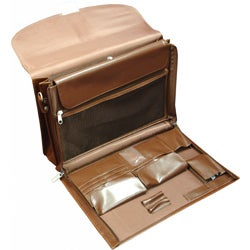 Amerileather Functional Leather Executive Briefcase - Thumbnail 2