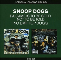 SNOOP DOGG - CLASSIC ALBUMS: DA GAME IS TO BE SOLD NOT TO BE T