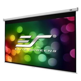 Elite Screens M100H Manual Ceiling/Wall Mount Manual Pull Down Projec