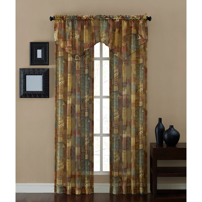 Tillary Printed Sheer Panel (84-inch)