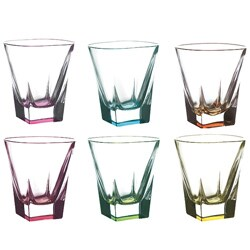 Lorren Home Trend Fusion Multicolor DOF (Set of 6)