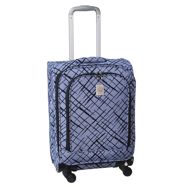 Jenni Chan Brush Strokes 21-inch 360 Quattro Carry-on Spinner Upright