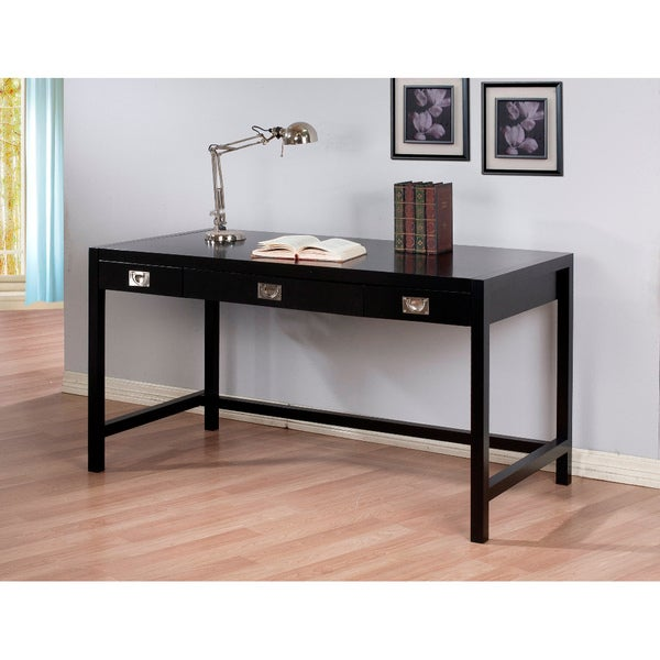 Napa Black Writing Desk