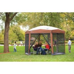 Coleman Steel-framed Screened Instant Canopy Shelter (12' x 10') - Thumbnail 1