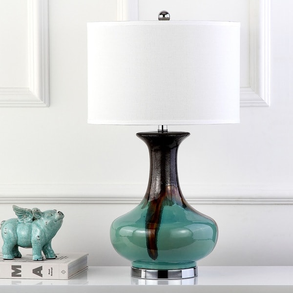Safavieh Lighting 30-inch Sea Colors Table Lamp