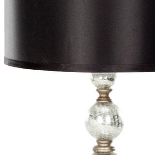 Safavieh Lighting 28-inch Mercury Glass Silver Finish Table Lamps (Set of 2)
