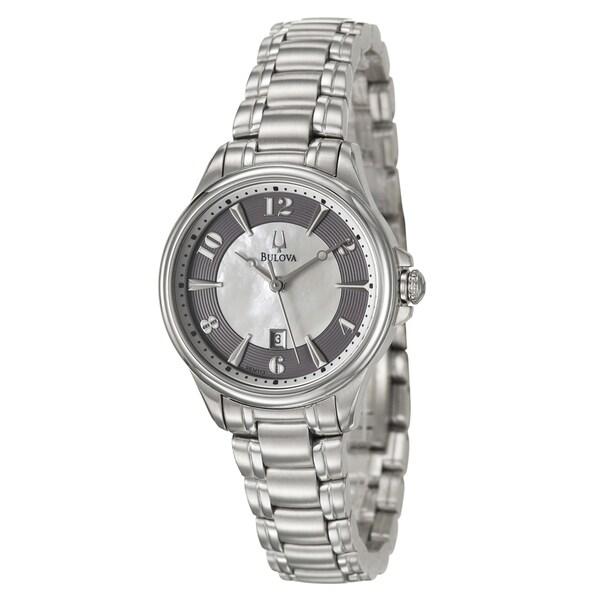 Bulova Women's Stainless Steel 'Adventurer' Watch